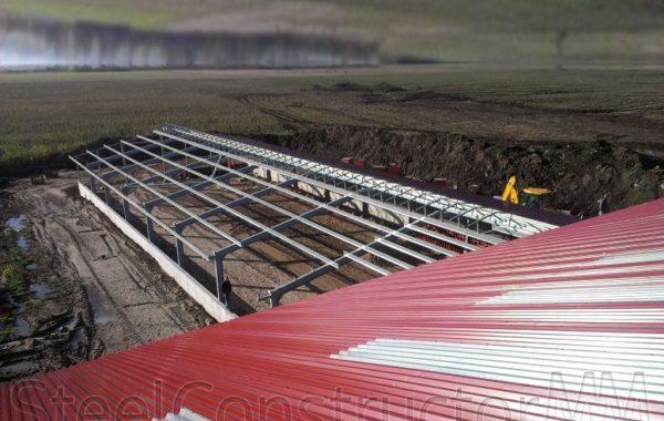 Jaunlopu noliktavas un lauksaimniecības noliktavas būvniecība