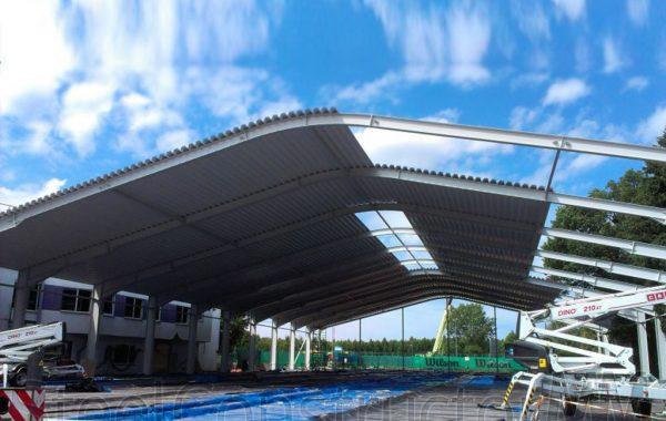 Renovation of tennis courts, Riga
