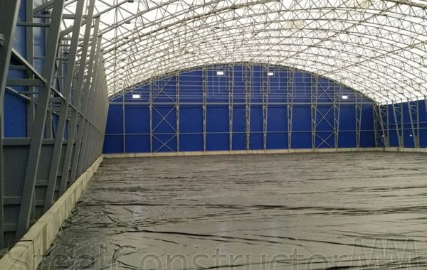 Construction of two loose bulk freight hangars – Zilā street 22/24 Bolderāja Riga