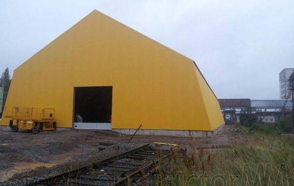 Loose bulk freight hangar -Taahe 13, Estonia