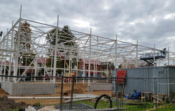 Supermarket construction, Livani