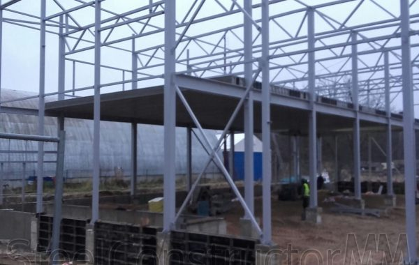 Building for storing fishery products.